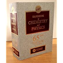 Handbook of Chemistry and Physics, 65th Edition
