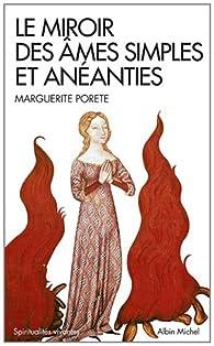 Le miroir des âmes simples et anéanties par Marguerite Porete