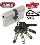 ABUS EC550 Profil-Doppelzylinder Länge 30/45mm mit 5 Schlüssel