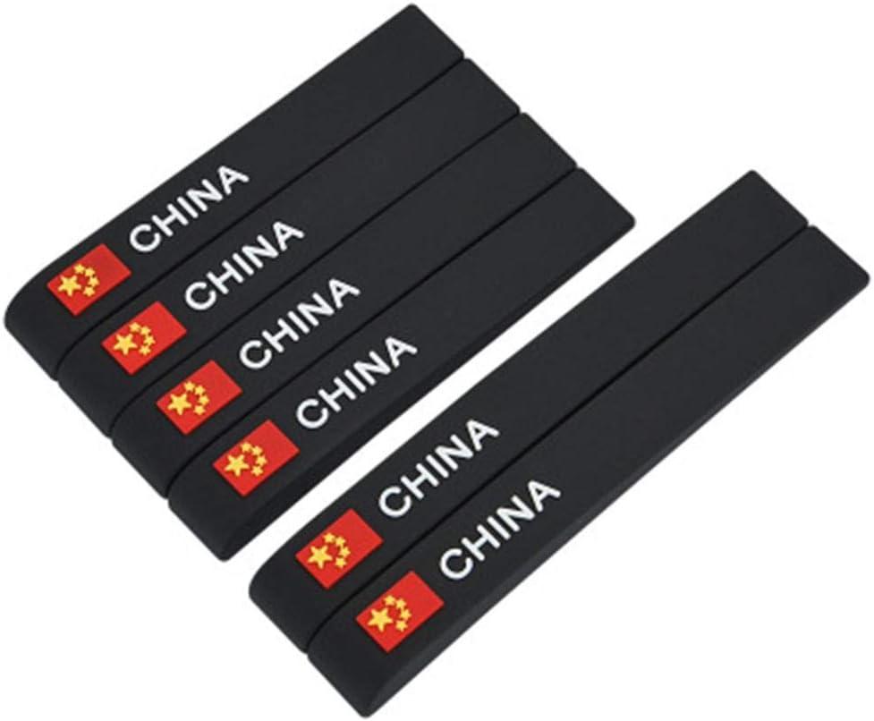 Euopat Car Bumper Accessories,Car Bumper Strip,Door Sill Protector Door Protection Bumper Protector Car Crash Bar Anti-rub Decorative Strip