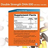 NOW Supplements, DHA-500 with 250
