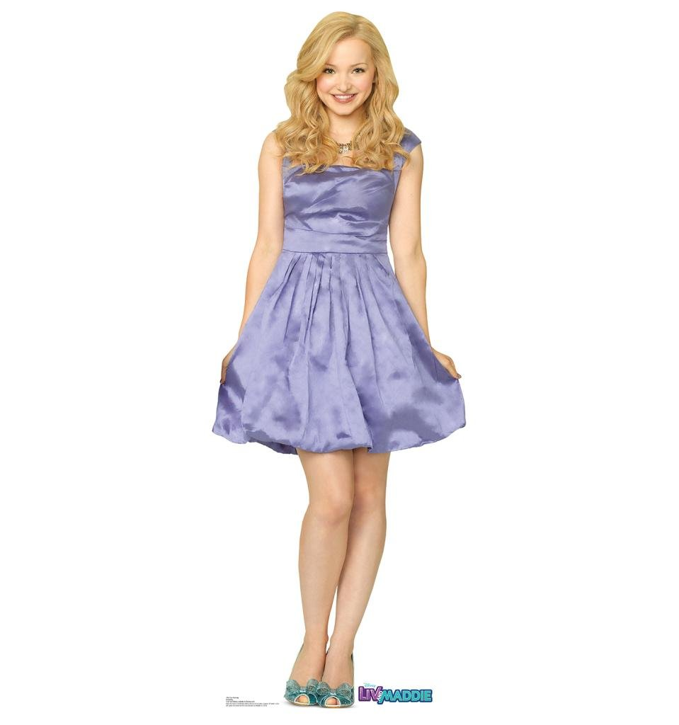 Printable coloring pages liv and maddie - Amazon Com Liv Rooney Disney S Liv And Maddie Advanced Graphics Life Size Cardboard Standup Home Kitchen