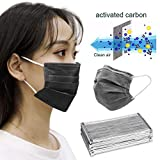10/50Pcs Face Cover, Disposable 3 Layers