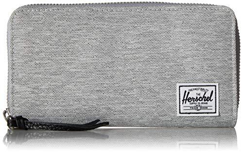 Herschel Supply Co. Men's Thomas RFID, light grey crosshatch, One Size