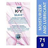 K-Y Silk-e Vaginal Moisturizer and Sexual Personal Lubricant, 71g