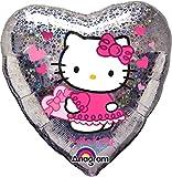 Hello Kitty–globo en forma de corazones, 45cm