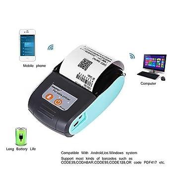 CatcherMy - Impresora portátil para Tarjetas USB, Mini Impresora ...