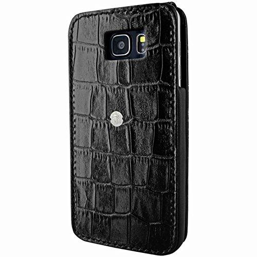 Piel Frama Wallet Case for Samsung Galaxy Note 5 - Crocodile Black
