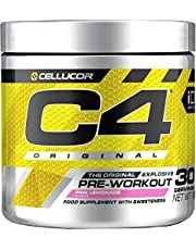 Pre-workout Powder C4 Original | Pre-workout Energy Drink Supplement | 150 mg Cafeïne + Bèta-alanine + Creatine-monohydraat