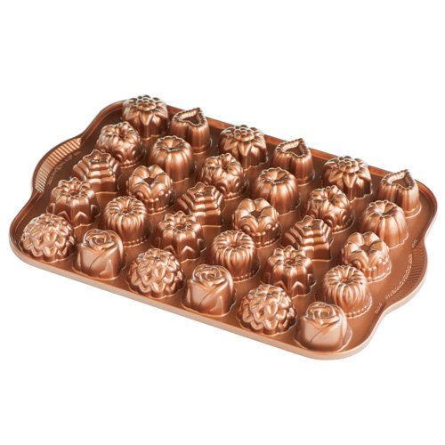 Nordic Ware 59448 Bundt Tea Cakes And Candies Pan