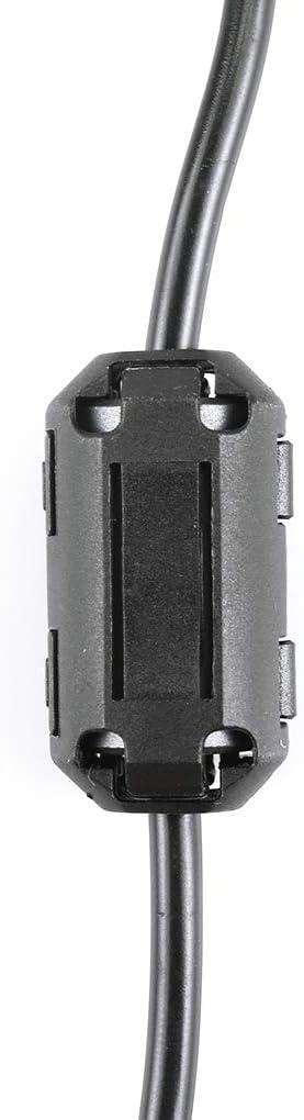 Yosiyo Cable Cargador USB para ICOM IC-F21-F31 IC IC-F41 IC-IC-V8 T3H walkie Talkie Cable de Carga USB