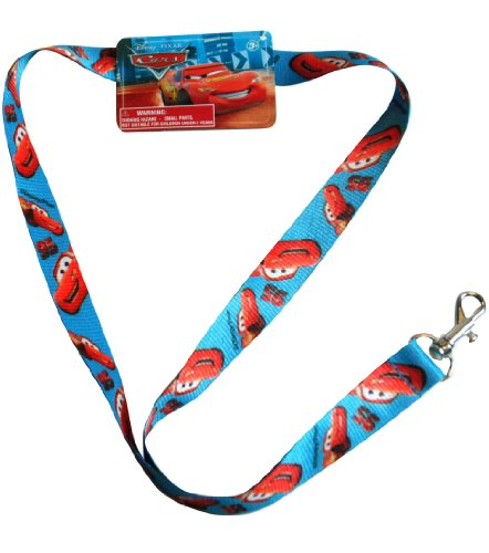 H.E.R Accessories Disney Cars Lightning Mcqueen Lanyard Pin Trading Key -