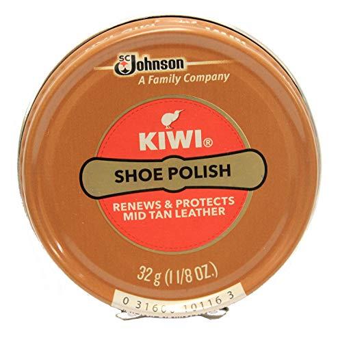 Kiwi Mid Tan Shoe Polish 32g (1-1/8 ()