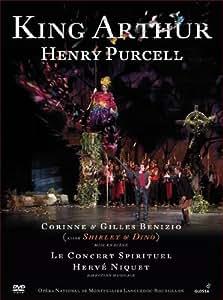 Purcell: El Rey Arturo (Dvd) ; Le Concert Spirituel , Shirley & Dino - Niquet [Reino Unido]