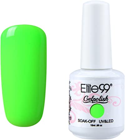 Image of Esmaltes Semipermanentes de Elite99 Uñas Semipermanentes Uñas de Gel Soak off UV LED Manicura Semipermanente 1pcs 15ml -1554