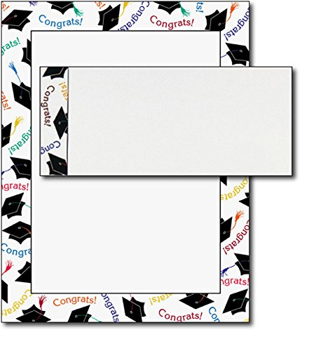 - Graduation Letterhead & Envelopes - 40 Sets