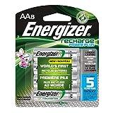 Energizer Recharge Power Plus AA8 2300 mAh, 8 Rechargable Batteries