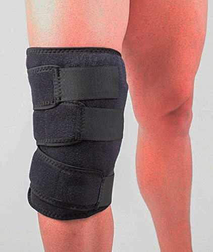 Knee Ice Pack + Compression, Cold Therapy 360º knee Ice Wrap, Universal Size, Stops Knee Pain Fast, Knee Icing Recommended by Ortho MDs as Safe and Effective. Clinical Quality. Made in USA. by Cold One