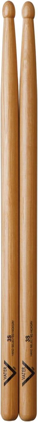 16.0 pulgadas de longitud, punta de madera Vater VHHW Baqueta color madera