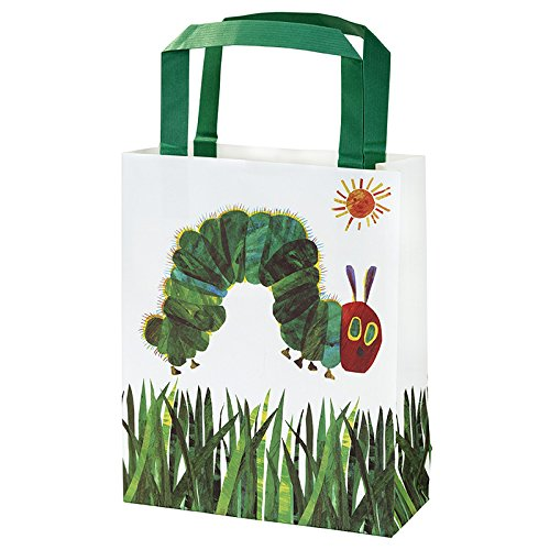 World of Eric Carle, The Very Hungry Caterpillar Party Supplies, Birthday Party Treat Bags, Paper, 8 Pack]()