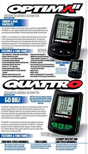 L/&B Viso2 digital skydiving altimeter and L/&B Quattro audible package deal
