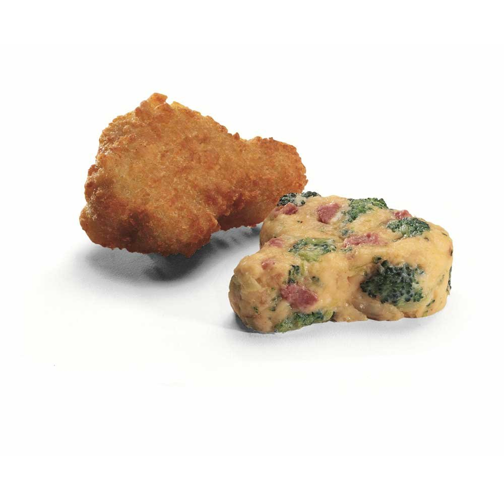 McCain Anchor Breaded Cheddar and Broccoli Bite - Appetizer, 2.5 Pound -- 6 per case.