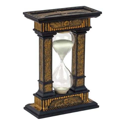 Design Toscano Sands of Time Egyptian Hourglass (Large Hourglass)