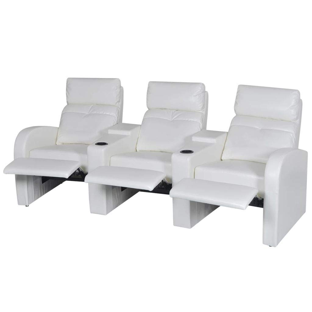 Surprising Amazon Com Tidyard Leather Home Cinema Recliner Reclining Unemploymentrelief Wooden Chair Designs For Living Room Unemploymentrelieforg