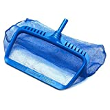 Solstice by International Leisure Products Swimline 8040 Professional Heavy Duty Deep-Bag Pool Rake, Blue
