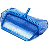 Swimline 8040 Professional Heavy Duty Deep-Bag Pool Rake, Blue...
