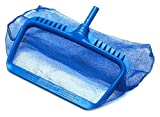 Swimline 8040 Professional Heavy Duty Deep-Bag Pool Rake, Blue