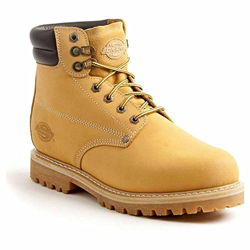 Dickies Men's Raider 6'' Leather Work Boot,Wheat,10 M US by Dickies