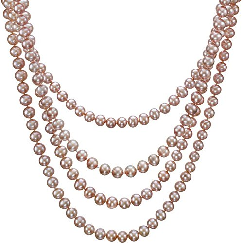 HinsonGayle-AAA-Handpicked-Naturally-Pink-Freshwater-Cultured-Pearl-Rope-Necklace-82-Strand