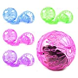Rodent Jogging Play Exercise Small Ball Toy for Mice Hamster,Hamster Toy Ball,Hamster Toy