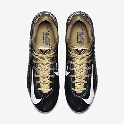 Nike Vapor Carbon Elite Td Heren Voetbal Cleats Zwart / Goud