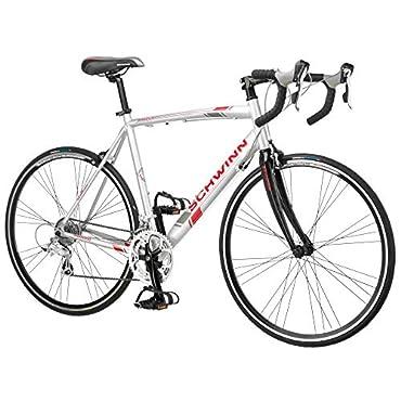 Schwinn 700C Phocus 1600 Women's Drop Bar Road Bike/Bicycle, White (S5491)