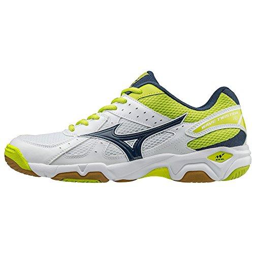 Chaussures Mizuno Wave Twister 4 blancbleuvert Vente Wiki