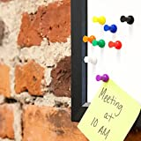 MapMagnets - 24 Classic Magnetic Push Pins