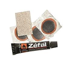 Les pneus tubeless-kit de réparation zefal lot de 3 stickers thermocollants 5 g solvant papier de verre