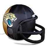 NFL Jacksonville Jaguars Team Inflatable Lawn Helmet, Black, One Size