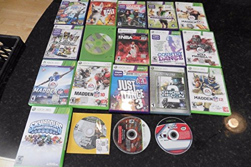 xbox 360 games microsoft lot of 17