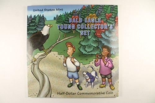 2008 S Bald Eagle Young Collectors Set Half Dollar Uncirculated US Mint