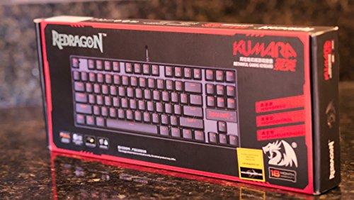 Redragon K552 KUMARA LED Backlit Mechanical Gaming Keyboard (Black)