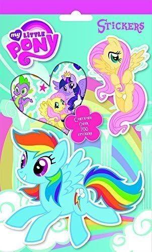 My Little Pony Pack de más de 700 pegatinas: Amazon.es: Oficina y papelería