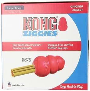 KONG Stuff'N Ziggies Cube Large Dog Treat, 63-Ounce