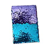 Dotted Sequin Notebook-TEEPAO Color Changing Magic Reversible Flip Mermaid Sequin Journal Suitable for Adult and Child
