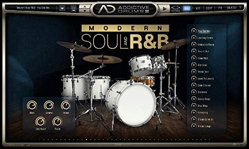 XLN AUDIO エックスエルエヌオーディオ ソフト音源 Addictive Drums 2 : Modern Soul and R&B