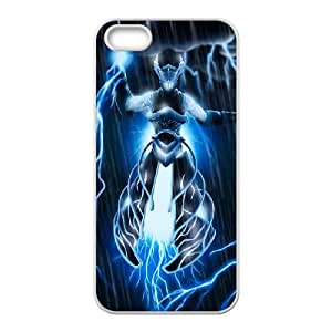 iPhone 5 5s Cell Phone Case White Defense Of The Ancients Dota 2 RAZOR 003 LWY3516442KSL