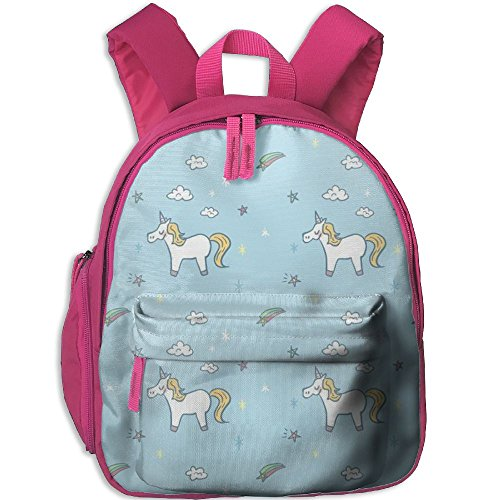 Little Girls Boys Personalized Waterproof Toddler Backpack With Adjustable Shoulder Straps Unicorn Printed Schoolbag Gift For Children In Pre School Or Kindergarten
