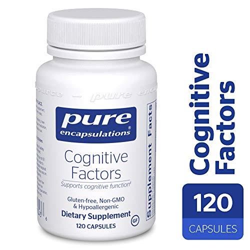 Cheap Pure Encapsulations – Cognitive Factors – Hypoallergenic Supplement for Cognitive Function Support* – 120 Capsules